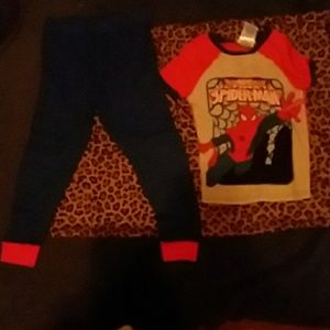 "Spiderman pj ""set"""